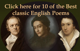 small image of three Romantic-era poets combined on dark background
