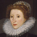 thumbnail image shows face of Elizabeth Tudor as queen